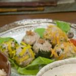 広島菜入りカラフルシューマイ