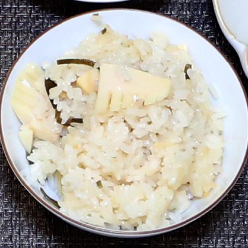 もち米入り筍ご飯