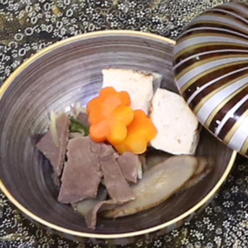 エゾ鹿肉のしぐれ煮